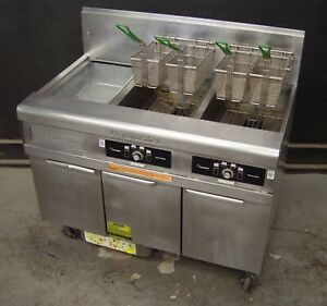 Frymaster Deep Fat Fryer Performance Pro Series Natural Gas W filtration System