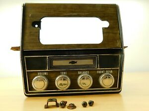 8 track Tape Player And Housing Untested 1968 Chevrolet Caprice