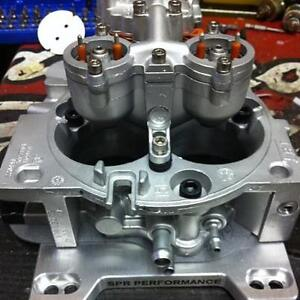 54mm Ported 7 4l 454 Tbi Package Deal With Tbi To Carb Intake Adapter