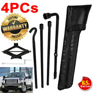 Car Tire Repair Tools Kit For Ford F 150 2010 2014 And Scissor Jack Heavy Duty