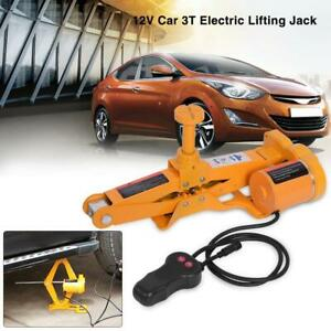 3ton 12v Dc Automotive Car Electric Jack Lifting Suv Van Garage Device