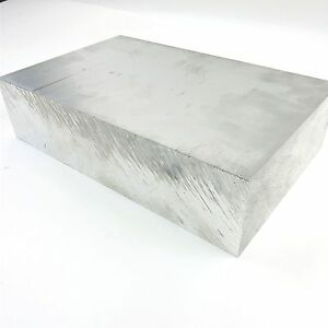 2 5 Thick 6061 Aluminum Plate 5 25 X 9 625 Long Solid Flat Stock Sku137460