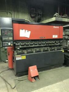 Used Amada Hydraulic upacting Press Brake Model Fbd 8025 88 Ton X 8