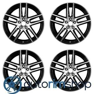Ford Mustang 2012 2013 19 Factory Oem Staggered Wheels Rims Set Cr3z1007e