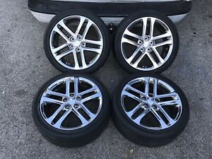 Kia Optima 2013 Oem Set Of 4 18 Wheels Tires Pvd Chrome 74673 529104c750