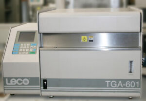 2 Units Of Leco Tga 601 Thermogravimetric Analyzer Model 604 100 600