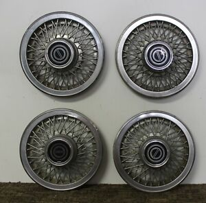 Oem 14 Wire Type Hub Caps Wheel Covers E3sz1130d 1983 93 Ford Mustang w115
