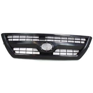 Grille For 2006 2009 Toyota 4runner Textured Black Plastic