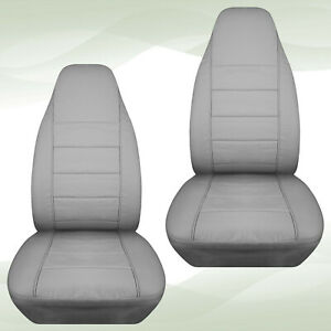 Designcover Front Car Seat Covers Silver Fits 2004 2012ford Ranger Bucket Seats