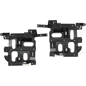 Headlamp Headlight Bracket Lh Left Right Pair Set For Silverado Pickup Truck