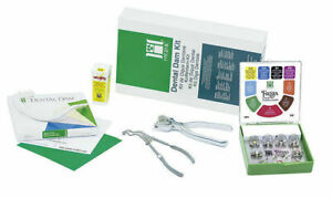 Coltene Dental Hygenic Rubber Dam Winged Complete Kit Free Shipping