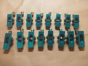 Aluminum Roller Rockers Sb Ford With 1 6 Ratio 3 8 Stud Mustang 302 351 5 0