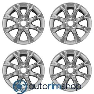 Ford Fusion 2011 2012 17 Factory Oem Wheels Rims Set Polished