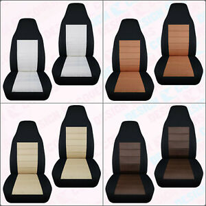 Designcover Front Car Seat Covers Comb Colors Fits 04 12ford Ranger Bucket Seat