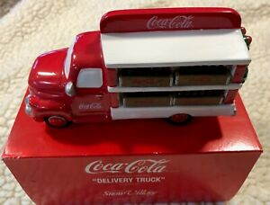 "DEPARTMENT DEPT 56 SNOW VILLAGE ""COCA-COLA DELIVERY TRUCK"" (5479-8)"