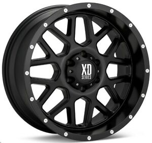 17 Inch Black Rims Wheels Lifted Chevy Truck Silverado 1500 Tahoe Suburban 17x9