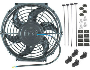 11 Inch 90w Motor 12v Electric Fan Radiator Cooling Best Cfm Air Flow Car Truck