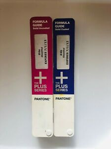 Pantone The Plus Series Color Formula Guide Solid Uncoated Solid Coated 2012