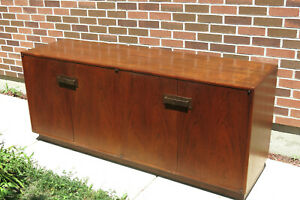 Vintage Mid Century Founders Milo Baughman Credenza Chest Sideboard Buffet