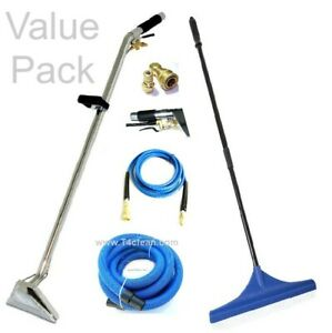 Carpet Cleaning Wand Hoses Rake Upholstery Detail Tool Combo