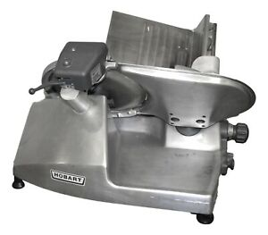 Hobart 2612 Model Deli Meat Cheese Slicer Commercial Ohio Nsf With Sharpener