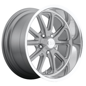 4 Us Mag U111 Rambler 15x8 5x4 75 1mm Gunmetal Wheels Rims 15 Inch