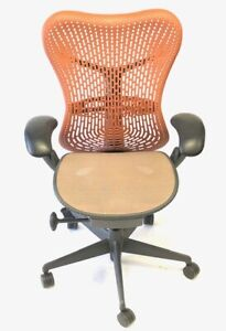Herman Miller Orange Mirra Chair