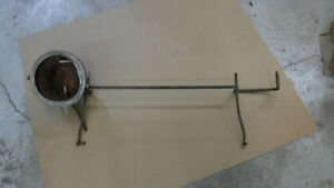 Antique Car Black And Nickel Headlight And Bar Mt 3700