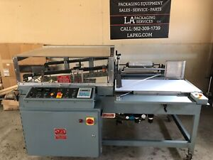 shanklin A 27a Shrink Wrapper Auto L Sealer Good Working Condition