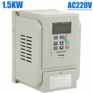 1 5kw 2hp Vfd 8a Ac 220v Single 3 phase Speed Variable Frequency Drive Inverter