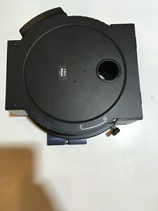 Nikon Microscope T flc Eclipse Filter Wheel Cube Holder Turret Te2000 u