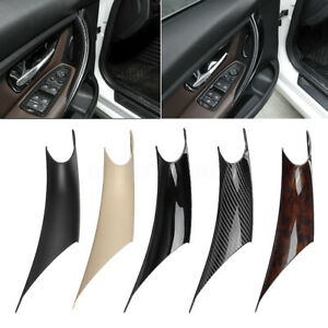 Car Inner Interior Door Pull Handle Panel Cover Trim For Bmw F30 F35 2012 2016