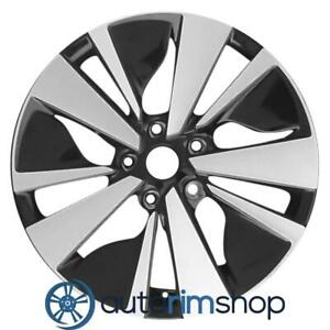 New 17 Replacement Rim For Nissan Altima 2019 Wheel Machined With Black