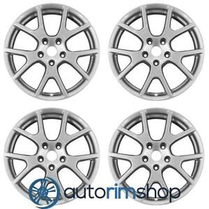 New 19 Replacement Wheels Rims For Dodge Journey 2011 2018 Set Silver