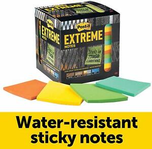 Post it Extreme Notes 3 X 3 12 Pads Pack Sticky Note Pads