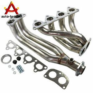 Exhaust Header Manifold Ss 4 2 1 For Honda Civic Crx Del Sol D15 D16 I4 1988 00