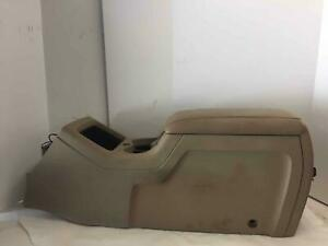 03 06 Ford Expedition Front Console Tan Beige Floor Heated Cooled Driver Seat