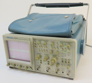 Tektronix 2465a 350mhz 4 Channel Portable Analog Oscilloscope Opt 22