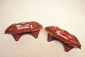 Mitsubishi Lancer Evo X Brembo Front Brake Calipers Evolution 10 Oem 2008 2015
