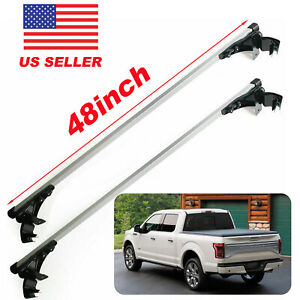 Universal 48 Roof Rack Cross Bar Cargo Carrier For Ford F150 F250 F350 F450