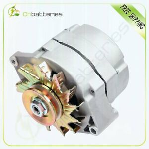 Alternator High Output For Chevy One 1 Wire 105 Amp Delco 10si Self exciting 12v