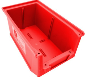 Parts Tray Wall Mount Small Container Organiser Stack Able Storage Bins Plastic