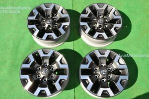16 Toyota Tacoma Oem Factory Trd Offroad Wheels 4runner Tundra 2019