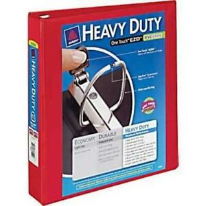 Avery Heavy duty Ezd Ring Reference View Binder 4 Folder Capacity Letter