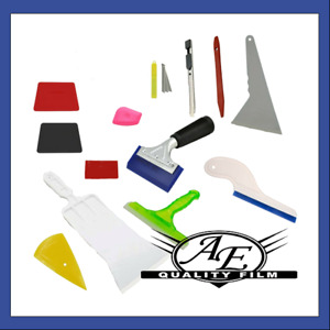 13 Piece Professional Window Tinting And Vinyl Wrap Tool Kit