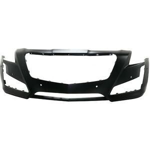 New Bumper Cover Facial Front Sedan For Cadillac Cts 14 19 Gm1000958 84033408
