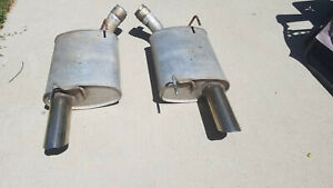 2005 2009 Ford Mustang Shelby Gt500 Catback Oem Lh Rh Exhaust Mufflers