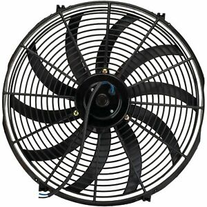 17 Inch Electric Radiator Cooling Fan 12v Reversible High 3000 Cfm Heavy Duty