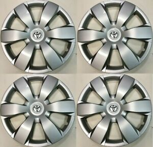 4 New 16 Hubcap Fits Toyota Camry 2007 2008 2009 2010 2011 Wheel Cover