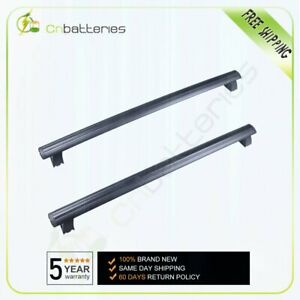 Pair For Jeep Grand Cherokee 2015 2016 Black Front Rear Roof Top Rack Cross